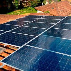 Valor de placa solar