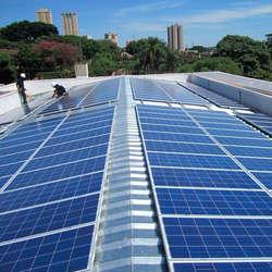 Placas de energia solares industrial