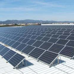 Comprar placa solar industrial